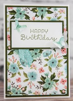 Stampin' Up! UK Feeling Crafty - Bekka Prideaux Stampin' Up! UK Independent Demonstrator: Birthday Cards for #imbringingbirthdaysback