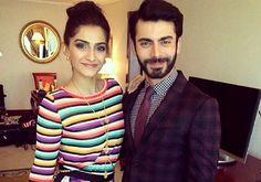 Fawad Khan and Sonam Kapoor in Dubai!