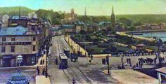 Guildford Square, Rothesay looking west 1918.