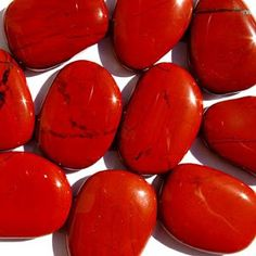 Semi-precious Red Jasper