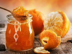 Vegan recipe for orange marmalade. Seville Orange Marmalade, Orange Jam, Orange Peel, Orange Drinks, Easy Treats To Make, Marmalade Recipe, Making Marmalade, Salsa Dulce, Gin Recipes