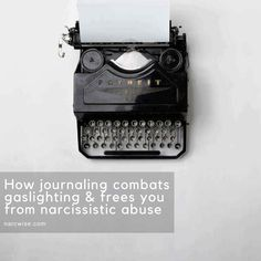 Looking for practical steps to free yourself from narcissistic abuse? Journaling combats gaslighting by recording the truth of the reality you are living in. Unlock your truth and strength using this method. Follow narcwise.com for more tips & wisdom on narcissistic abuse & codependency recovery. Reclaim your freedom & joy now!