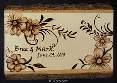 The pyrography is a technique that involves drawing and then burned by the heat. Although many often do wood burning ideas with a device called a pyrography Wood Burning Techniques, Wood Burning Tool, Wood Burning Crafts, Wood Burning Patterns, Wood Crafts, Pyrography Designs, Pyrography Patterns, Burning Flowers, Wood Burn Designs