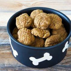 Homemade Pumpkin Dog Treats from UnrulyBliss.com