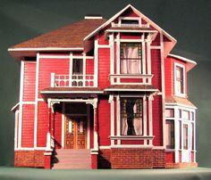 Halliwell Manor Dollhouse