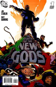 The Death Of The New Gods Ryan Sook Variant Darkseid Signed Starlin Dc Dc Comics, Batman Comics, Cbr, Jim Starlin, Jack Kirby Art, Fourth World, New Gods, Classic Comics, Comic Books Art