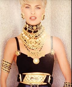 Remember the #bling of the 90's? Meet someone who remembers too! #Chanel #gold…