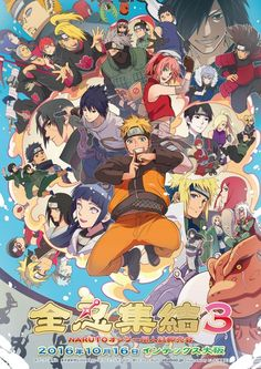 #Naruto and all the characters