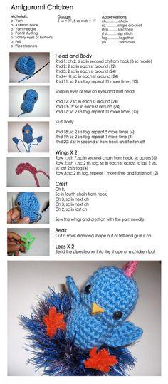 Crochet that chicken!