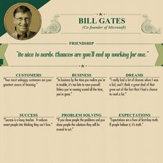 Advice from wealthy people