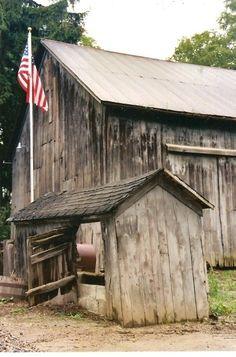 Barn & Old Glory - America - The United States of America - American Flag…