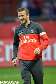David Beckham's team Paris Saint-Germain beat Nice 3-0 on Sunday! More pics here!