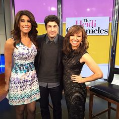 Always great to catch up with Jason Biggs. From #broadway in #TheHeidiChronicles, to babies and more! #newyorklivetv