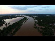Red River Flooding Texarkana AR - YouTube