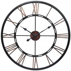 Metal Fusion Wall Clock