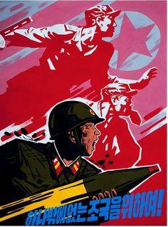 North Korean Propaganda Posters - ABC News Communist Propaganda, Propaganda Art, Life In North Korea, Political Posters, Socialist Realism, Korean Art, European History, China, Coat Of Arms