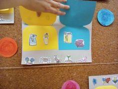 Třídění odpadu- detail Plastic Cutting Board