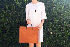 Classic in white. #shopserafina