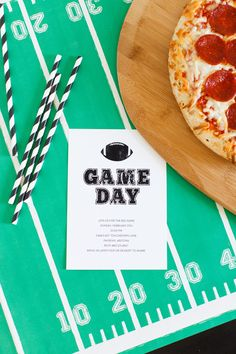 Get Ready for Game Day with a Pizza Party! Send out this free printable invitation and grab some delicious DiGiorno pizza and you're party will be off to a great start! Pizza Sides, Free Printable Invitations, Printables, Game Day Quotes, Tailgate Food, Pizza Party, Football Food, Get Ready, Easter Recipes