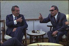 Nixon meets Brezhnev