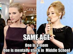 Adele And Taylor Swift