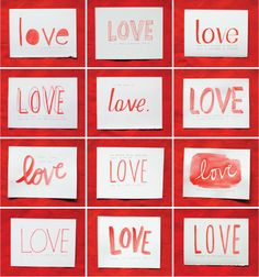 how many ways can you say love?