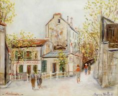 utrillo paintings | Maurice Utrillo | EXPERTISEZ.COM - Estimation gratuite en ligne