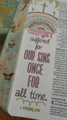 Bible Verse Art, Faith Bible, Bible Verses Quotes, Bible Scriptures, Bible Drawing, Bible Doodling, Bible Study Notebook, Bible Study Journal, Bibel Journal