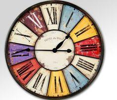 Blue reloj de pared