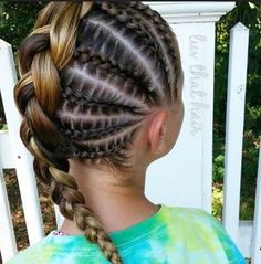 The Summer Best Cornrow Hairstyles #CornrowsColored