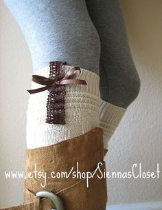 obsessed with leg warmers right now.. i just made a pair of these the other day and LOVE them! so easy to make