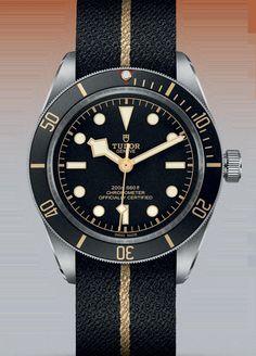 Tudor Black Bay Fifty-Eight watch Tudor Black Bay, Tudor Heritage Black Bay, Sport Watches, Cool Watches, Watches For Men, Tudor Rose, Navy Seals, Patek Philippe, Breitling