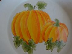 Stoneware Pumpkin Pie Plate made by Jo @ Fat Cat Pottery in Delta CO