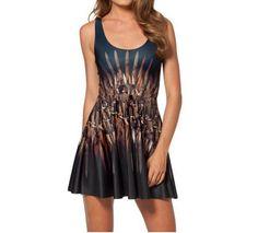 Dámské letní šaty s moderním potiskem železný trůn – dámské šaty + POŠTOVNÉ  ZDARMA Na tento 097e5ea755
