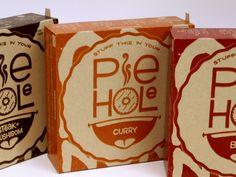 Pie Hole Meat Pies Packaging