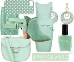 Pantone Spring/Summer Colour: Grayed Jade
