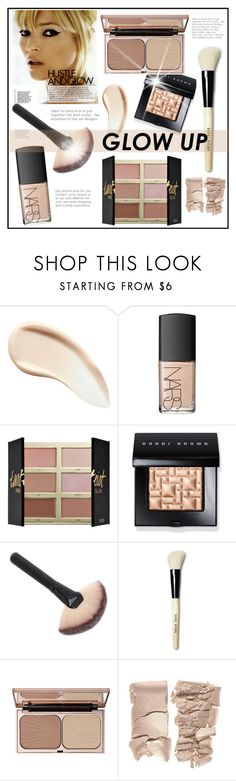 """""""#glowup"""" by hellodollface ❤ liked on Polyvore featuring beauty, Burberry, NARS Cosmetics, tarte, Bobbi Brown Cosmetics, Charlotte Tilbury and glowup"""