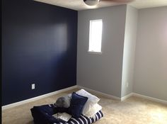 Boys Room Is Painted Gray Is Pencil Sketch Blue Is