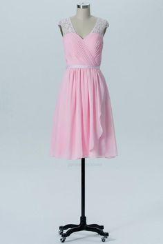 Open Back Bridesmaid Dress, Bridesmaid Dress Pink, Bridesmaid Dress Cheap, Bridesmaid Dresses 2018 #BridesmaidDressCheap #OpenBackBridesmaidDress #BridesmaidDressPink #BridesmaidDresses2018