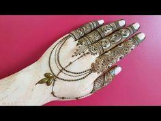 48 Trendy Tattoo Ideas Simple Home Finger Henna Designs, Back Hand Mehndi Designs, Mehndi Designs For Fingers, Mehndi Art Designs, Mehndi Patterns, Mehndi Images, Henna Tattoo Designs, Tattoo Ideas, Heena Design
