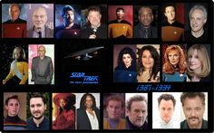 Star Trek:The Next Generation [1987-1994] //  Yesterday and Today