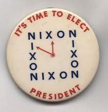 Vintage presidential campaign buttons  Richard Nixon: