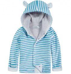 Welurowa bluza z uszkami dla niemowlaka N52C016_1