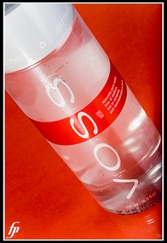 I have the original VOSS water bottle but really want the new red one!
