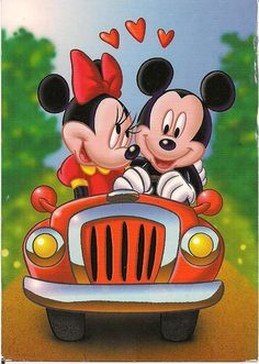 Walt Disney cartoon character character's Mickey and Minnie Mouse in love Disney Mickey Mouse, Mickey Mouse E Amigos, Retro Disney, Mickey Love, Mickey Mouse And Friends, Cute Disney, Minnie Mouse Pics, Disney Xd, Wallpaper Do Mickey Mouse