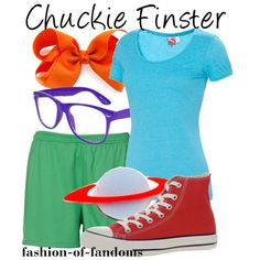 Cool 90\'s halloween costume - cute chuckie finster from rugrats ...
