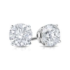 Awesome Great 1.50Ct Diamond Stud Earrings 6MM Round Diamond Solitaire Earrings SterlingSilver  2018 Check more at http://24shopping.tk/fashion-clothes/great-1-50ct-diamond-stud-earrings-6mm-round-diamond-solitaire-earrings-sterlingsilver-2018/