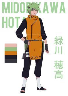 Midorikawa Hotaka by tsurugami.deviantart.com on  DeviantArt Personajes De  Naruto 420dfd27d42