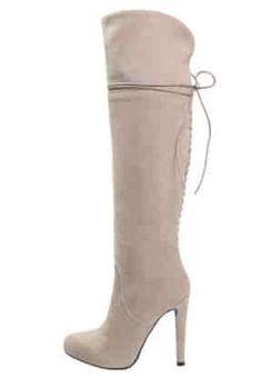 Mai Piu Senza - High heeled boots - stone