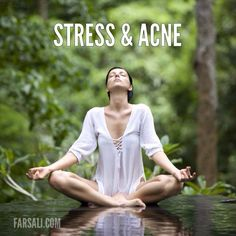 Have you ever noticed that when you are stressed, you break out more? This is because stress causes your body to produce cortisol and other hormones, which tells your sebaceous glands to produce more oil.  What You Can Do:  Practice stress management techniques, such as breathing exercises, yoga, meditation, or visual imagery.
